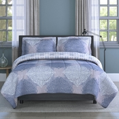 1888 Mills Inspired Surroundings Collection Ava Medallion Comforter Set