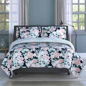 1888 Mills Inspired Surroundings Collection English Garden Floral Comforter Set