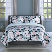 1888 Mills Inspired Surroundings English Garden Floral 3 pc. King Comforter Set