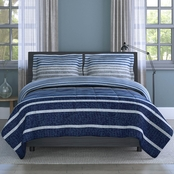 1888 Mills Inspired Surroundings Collection Harper Stripe Comforter Set