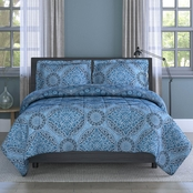 1888 Mills Inspired Surroundings Collection India Medallion Motif Comforter Set