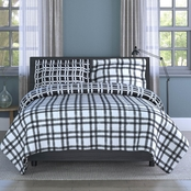 1888 Mills Inspired Surroundings Collection Handsome Plaid Comforter Set