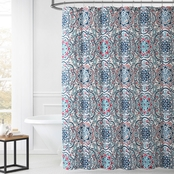Leila Medallion Print Shower Curtain
