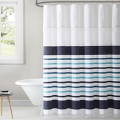 Sophisticated Parker Stripe Shower Curtain