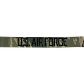 Embroidered Air Force ABU Branch Tape No Velcro Non-Standard 4.5 in.