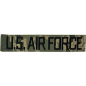 Air Force Embroidered ABU Hook & Loop Branch Tape