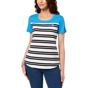 Karen Scott Striped Tee