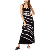 INC International Concepts Tie-Dyed Studded Maxi Dress