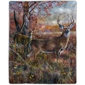 Lavish Home Sherpa Fleece Throw Blanket