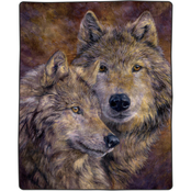 Lavish Home Heavy Fleece Woven Blanket