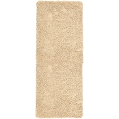 Lavish Home Memory Foam Shag 2 x 5 ft. Bath Mat
