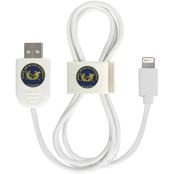 QuikVolt JAG Corps Lightning USB Cable with QuikClip, White