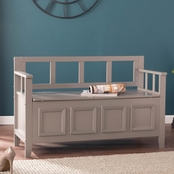 Southern Enterprises Richland Storage Bench
