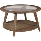 Southern Enterprises Chandler Round Cocktail Table