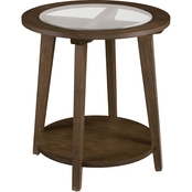 Southern Enterprises Chandler Round End Table