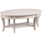 Southern Enterprises Laverly Oval Cocktail Table