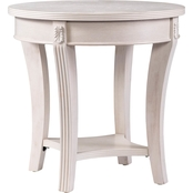 Southern Enterprises Laverly Round End Table