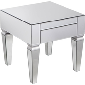 Southern Enterprises Darien Square End Table