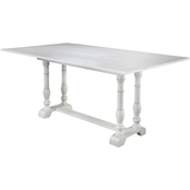 Southern Enterprises Edenderry Folding Dining Table