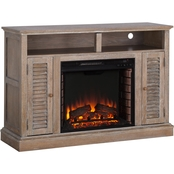 Southern Enterprises Antebellum Fireplace Media Stand