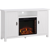Southern Enterprises Adderly Electric Fireplace TV Stand