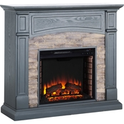 Southern Enterprises Seneca Media Fireplace