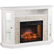 Southern Enterprises Redden Infrared Electric Fireplace Media Stand