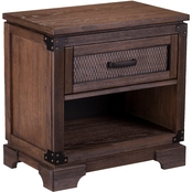 Southern Enterprises Drummond 1 Drawer Nightstand