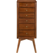 Southern Enterprises Wesley Jewelry Armoire