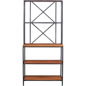 Southern Enterprises Patrick Two Tone Baker's Rack