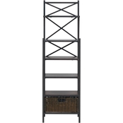 Southern Enterprises Pelham Baker's Rack Tower