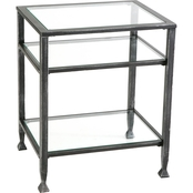 Southern Enterprises Metal End Table