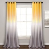 Lush Decor Umbre Fiesta Room Darkening 84 x 52 Curtain Panel 2 pk.