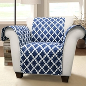 Lush Decor Wellow Ikat Armchair Furniture Protector