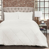 Lush Decor Diamond Pom Pom 3 pc. Comforter Set