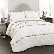 Lush Decor Boho Tassel 3 pc. Comforter Set