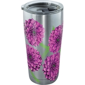 Tervis Tumbler Painted Dahlias Stainless 20 oz.