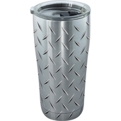 Tervis Tumbler Diamond Plate Stainless 20 oz.