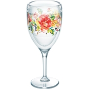 Tervis Tumbler Fiesta Floral Bouquet Wine Glasses 9 oz.