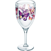 Tervis Tumbler Butterfly Passion Wine Glasses 9 oz.
