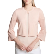 Calvin Klein Shrug With Mesh Arm Detail
