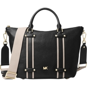 Michael Kors Griffin Leather Large Satchel