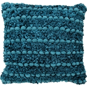 Chesapeake Merchandising 18 x 18 in. Micro Chenille Shaggy Pillow