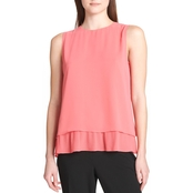 Calvin Klein Collection Overlay Top