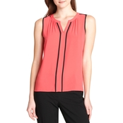 Calvin Klein Collection Piped Top