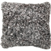 Chesapeake Merchandising Glory 18 x 18 in. Woven Shaggy Pillow