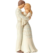 Enesco Jim Shore Heartwood Creek Couple with Baby Figurine