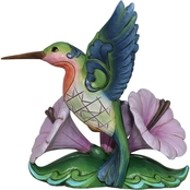 Enesco Jim Shore Heartwood Creek Mini Hummingbird Figurine