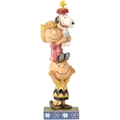 Enesco Peanuts by Jim Shore Stacking Peanuts Figurine