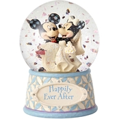 Jim Shore Disney Traditions Mickey and Minnie Mouse Waterball